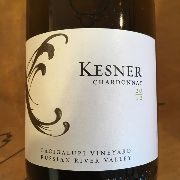 Kesner 'Bacigalupi' Chardonnay 2013 Russian River Valley  - K. Laz Wine Collection