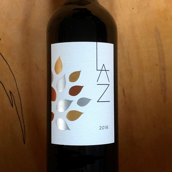 LAZ LAZ Cabernet Sauvignon 2016 1.5L bottle- signed by winemaker Celia Welch & Kerrin Laz - K. Laz Wine Collection