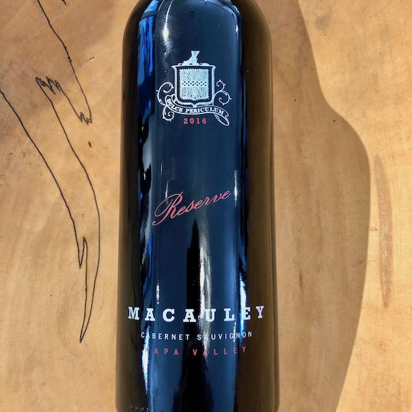 Macauley Reserve Cabernet Sauvignon 2016 - K. Laz Wine Collection