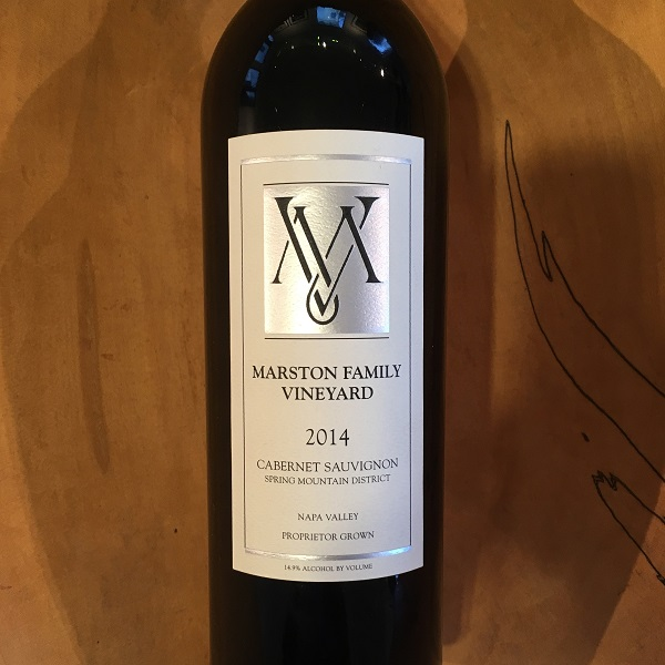Marston Family Vineyard  Cabernet Sauvignon 2014 - K. Laz Wine Collection