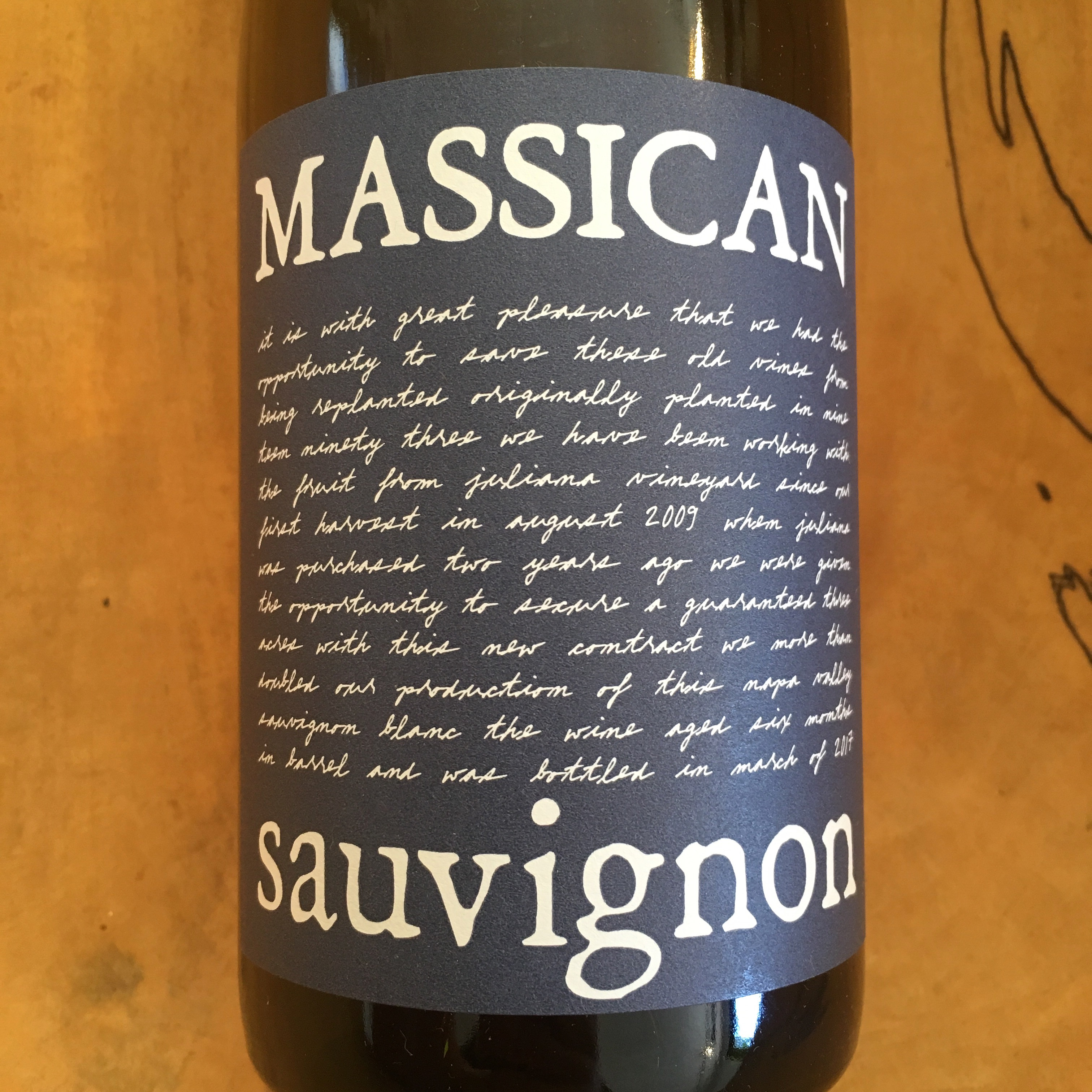 Massican Sauvignon Blanc 2016 Pope Valley - K. Laz Wine Collection