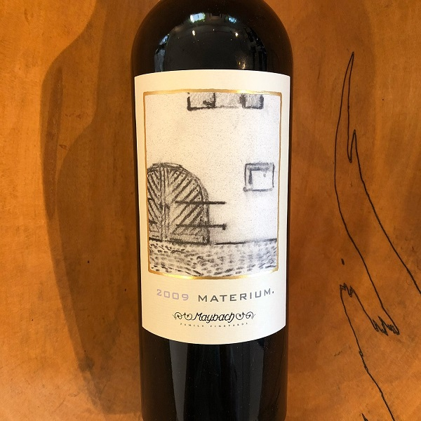 Maybach  Materium Cabernet Sauvignon 2009 - K. Laz Wine Collection
