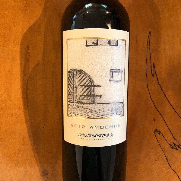 Maybach  'Amoenus' Cabernet Sauvignon 2012 - K. Laz Wine Collection