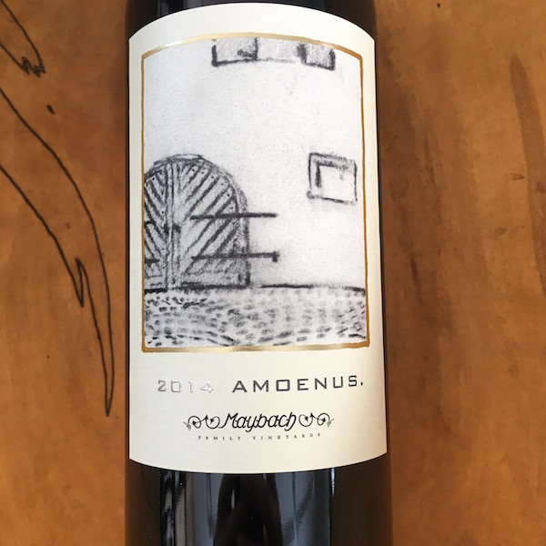 Maybach Amoenus Cabernet Sauvignon 2014  Napa Valley  - K. Laz Wine Collection