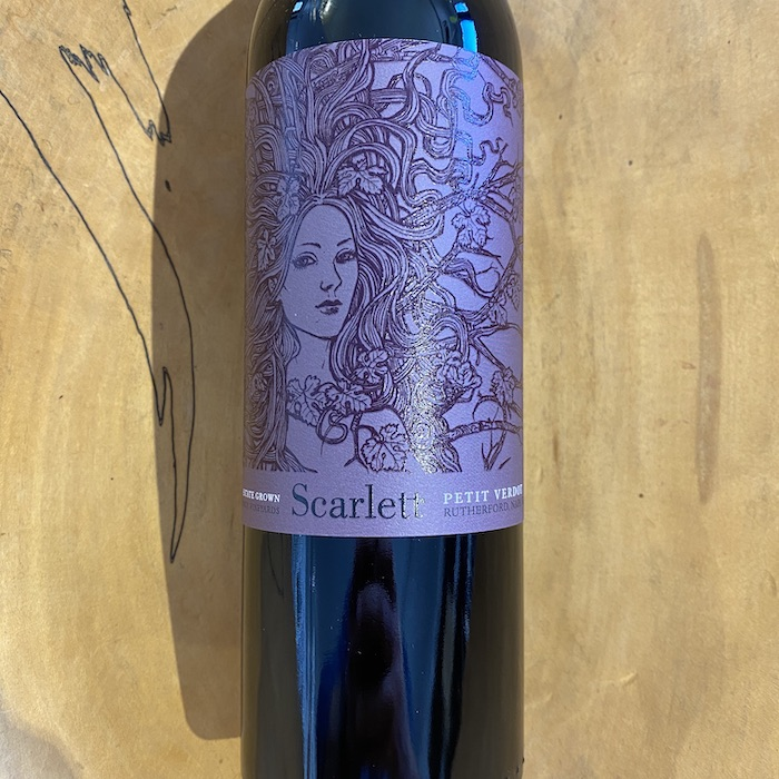 McGah Vineyards 'Scarlett' Petit Verdot 2015 - K. Laz Wine Collection
