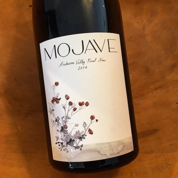 Mojave Anderson Valley Pinot Noir 2014 Anderson Valley - K. Laz Wine Collection