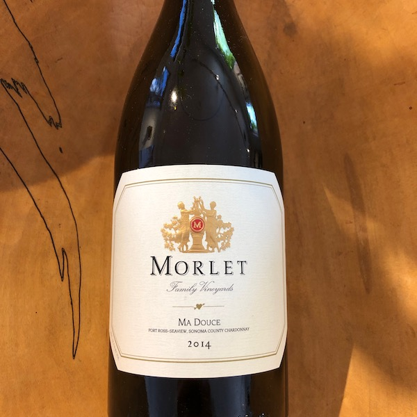 Morlet 'Ma Douce' Chardonnay 2014 - K. Laz Wine Collection