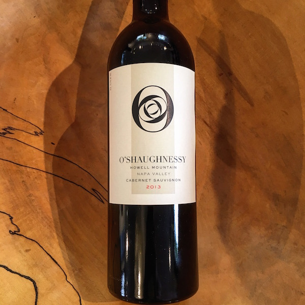 O'Shaughnessy Howell Mountain Cabernet Sauvignon 2013 Howell Mountain  - K. Laz Wine Collection