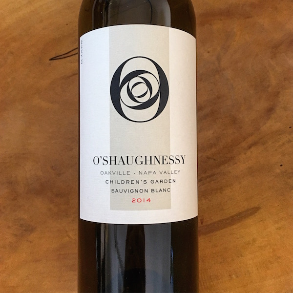 O'Shaughnessy Sauvignon Blanc 2014 Oakville - K. Laz Wine Collection