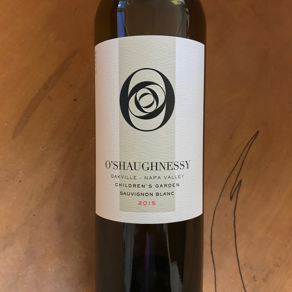 O'Shaughnessy Sauvignon Blanc 2015 Oakville - K. Laz Wine Collection