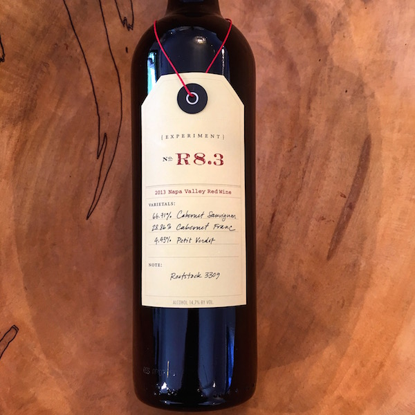 Ovid Experiment R8.3 Red 2013 Pritchard Hill - K. Laz Wine Collection