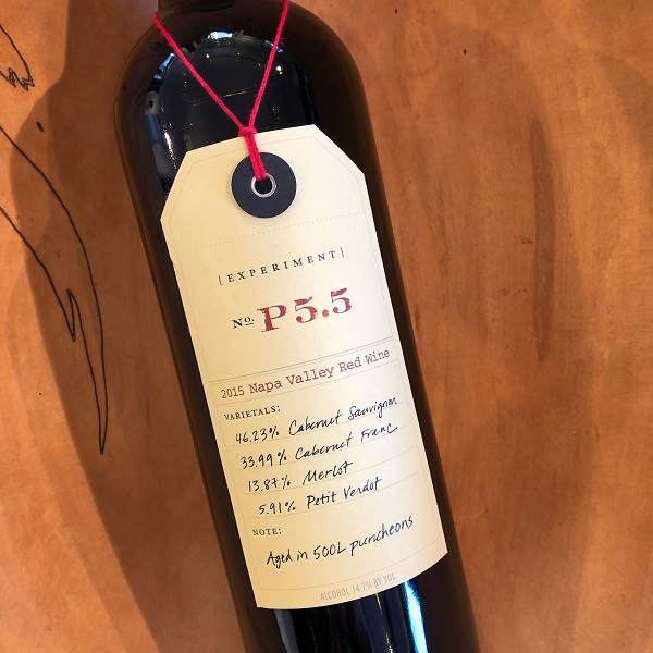 Ovid  'Experiment P5.5' Red 2015 - K. Laz Wine Collection