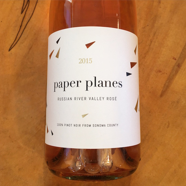 Paper Planes Rose 2015 Russian River Valley  - K. Laz Wine Collection
