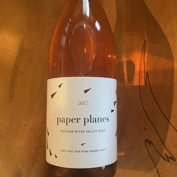 Paper Planes  Rose 2017 - K. Laz Wine Collection
