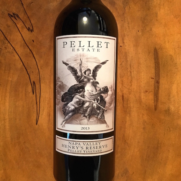 Pellet Estate Henry's Reserve Red 2013 St. Helena  - K. Laz Wine Collection
