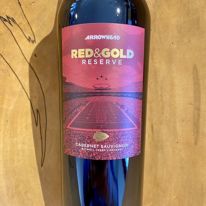 Bidwell Creek Estate Arrowhead 'Red & Gold Reserve' Cabernet Sauvignon 2016 - K. Laz Wine Collection