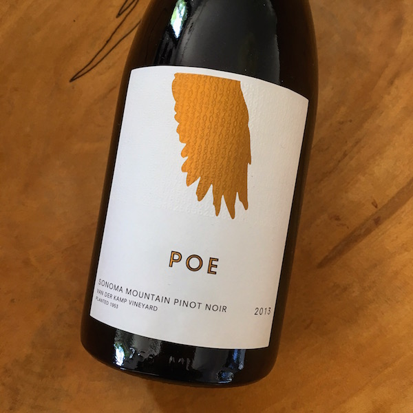 Poe Van der Kamp Pinot Noir 2013 Sonoma  - K. Laz Wine Collection