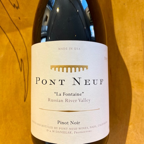 Pont Neuf 'La Fontaine' Pinot Noir 2017 - K. Laz Wine Collection