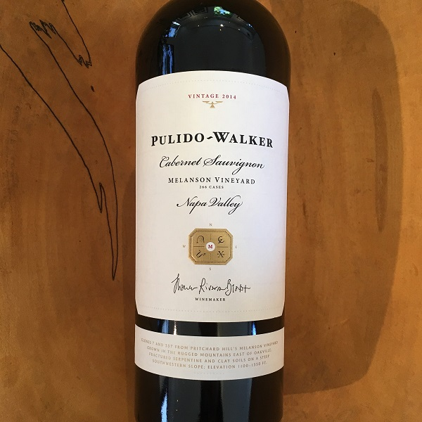 Pulido-Walker 'Melanson Vineyard' Cabernet Sauvignon 2014  - K. Laz Wine Collection
