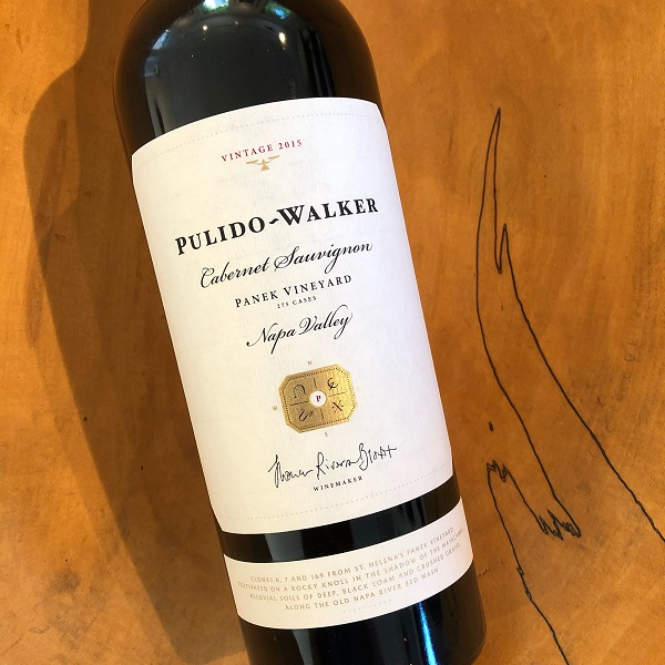 Pulido-Walker  'Panek Vineyard' Cabernet Sauvignon 2015 - K. Laz Wine Collection