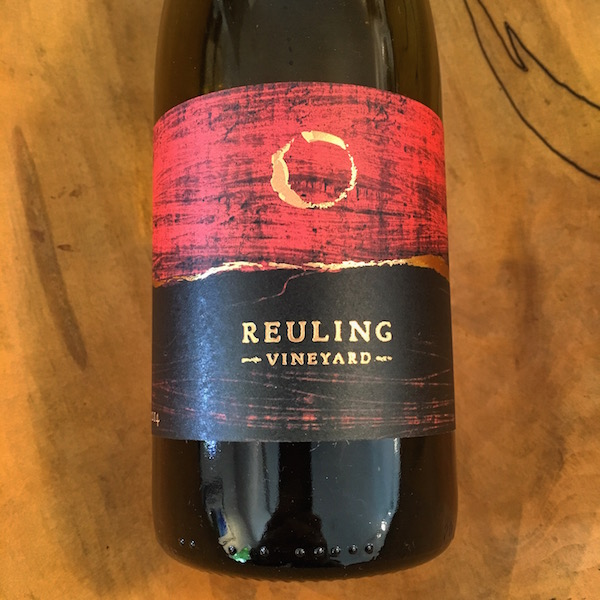 Reuling Sonoma Coast Chardonnay 2014  Sonoma Coast  - K. Laz Wine Collection