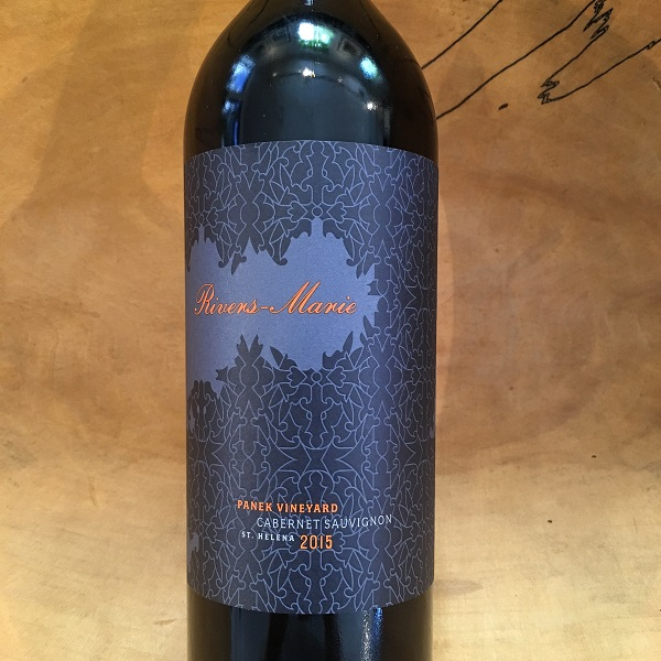 Rivers-Marie 'Panek Vineyard' Cabernet Sauvignon 2015 St. Helena - K. Laz Wine Collection