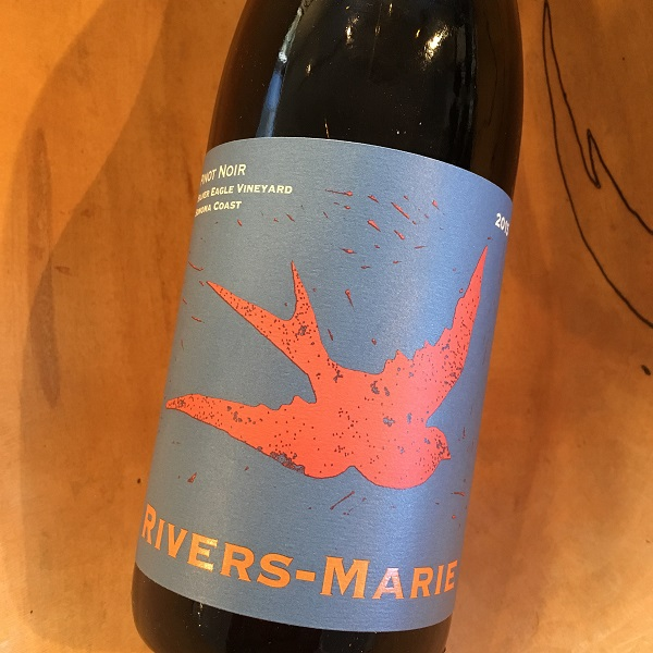 Rivers-Marie 'Silver Eagle Vineyard' Pinot Noir 2015 Sonoma Coast - K. Laz Wine Collection
