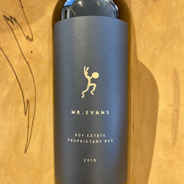 Roy Estate 'Mr. Evans' Estate Red 2015 - K. Laz Wine Collection