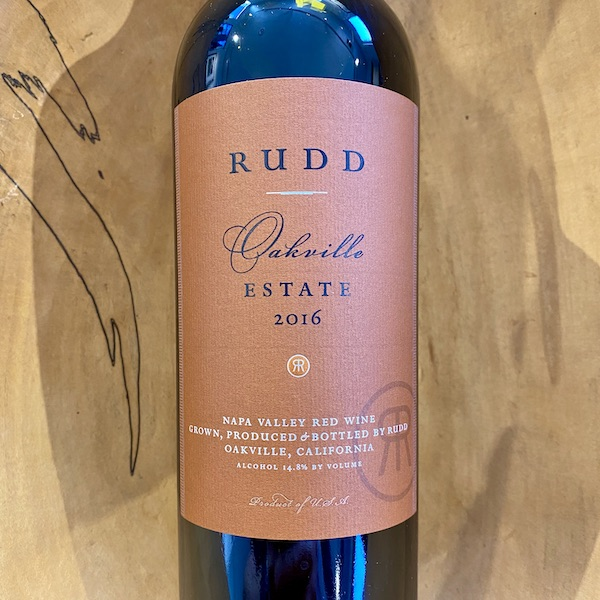 Rudd Oakville Estate Red 2016 - K. Laz Wine Collection