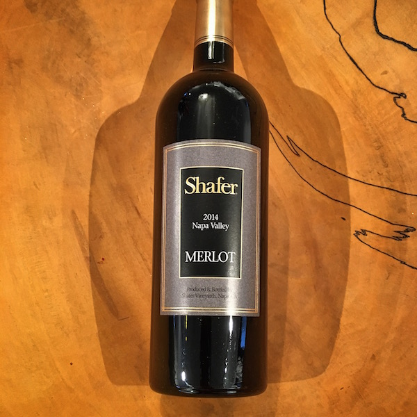 Shafer Merlot 2014 Napa Valley - K. Laz Wine Collection