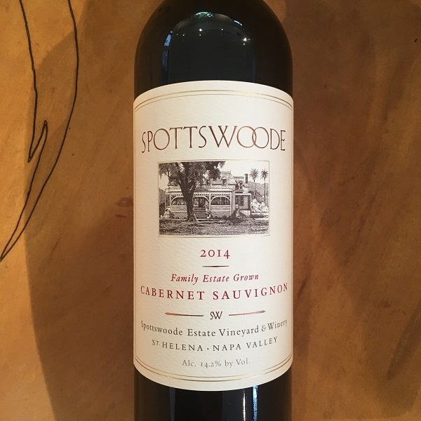 Spottswoode Estate Cabernet Sauvignon 2014 375ml  - K. Laz Wine Collection