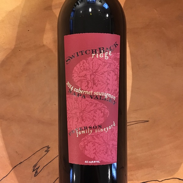Switchback Ridge Cabernet Sauvignon 2014  Calistoga - K. Laz Wine Collection