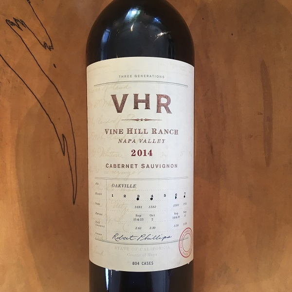 Vine Hill Ranch Cabernet Sauvignon 2014 Oakville - Napa Valley - K. Laz Wine Collection
