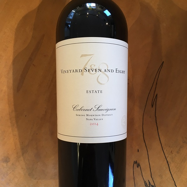 Vineyard 7&8 Estate Cabernet Sauvignon 2014 Spring Mountain - K. Laz Wine Collection
