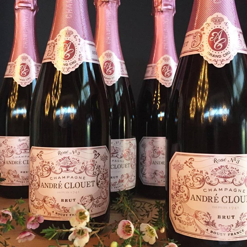Andre Clouet Rose No 3 Grand Cru Brut NV  - Les Marchands Restaurant & Wine Shop