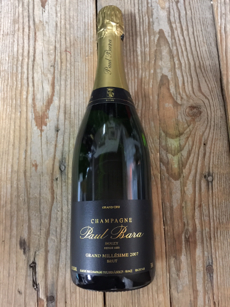 Paul Bara Brut Millesime Grand Cru 2007  - Les Marchands Wine Bar & Merchant