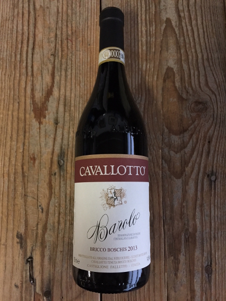 Cavallotto Barolo Bricco Boschis 2013  - Les Marchands Restaurant & Wine Shop