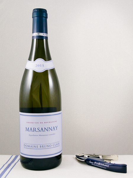 Bruno Clair Marsannay Blanc 2015  - Les Marchands Restaurant & Wine Shop