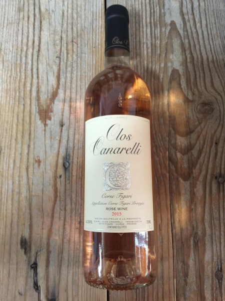 Clos Canarelli Corse Figari Rose 2015  - Les Marchands Wine Bar & Merchant