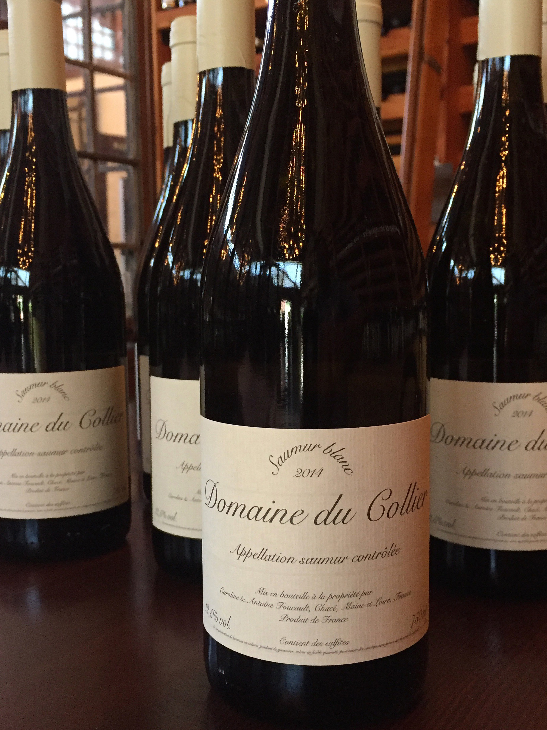 Collier Saumur Blanc 2014  - Les Marchands Restaurant & Wine Merchant