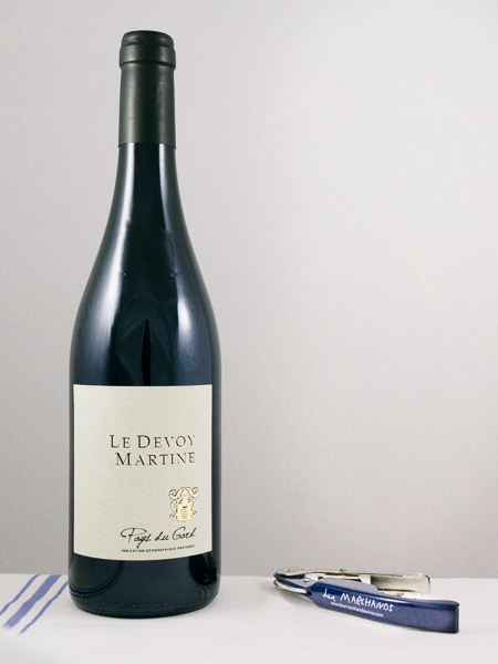 Le Devoy Martine IGP Rouge 2015  - Les Marchands Restaurant & Wine Merchant