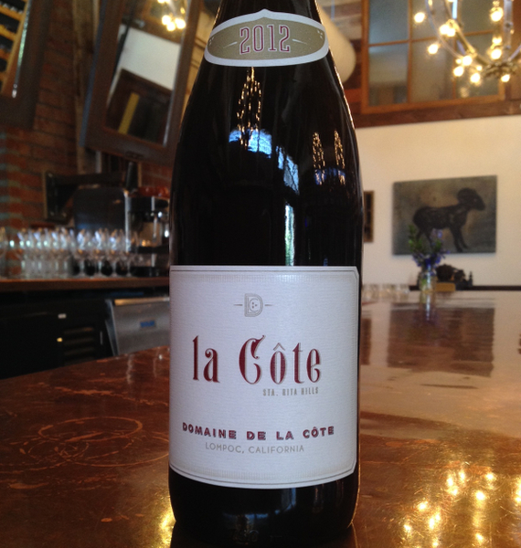 Les marchands restaurant wine merchant domaine de la for La fenetre a cote pinot noir 2012