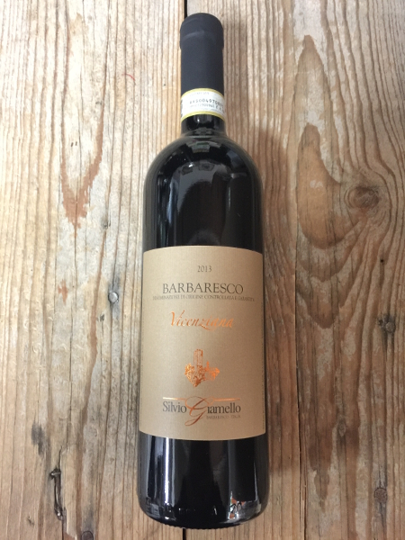 Silvio Giamello Barbaresco Vicenziana 2013  - Les Marchands Wine Bar & Merchant