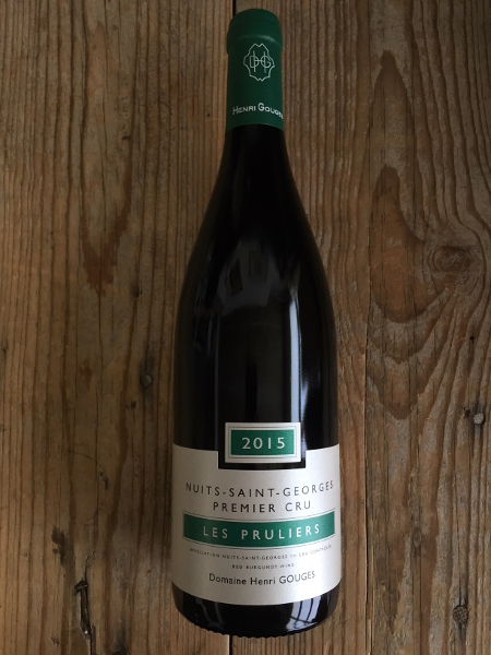 Henri Gouges Nuits St Georges Les Pruliers 2015  - Les Marchands Wine Bar & Merchant