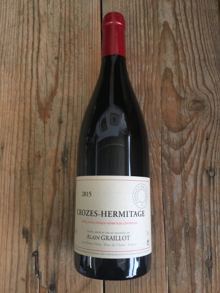 Graillot Crozes Hermitage 2015  - Les Marchands Wine Bar & Merchant