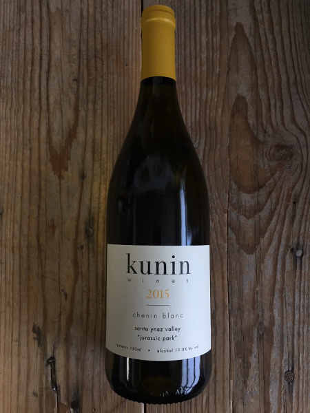Kunin Chenin Blanc Jurassic Park Vineyard 2015  - Les Marchands Wine Bar & Merchant