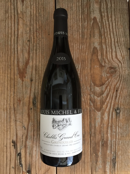 Louis Michel Chablis Grenouilles 2015  - Les Marchands Wine Bar & Merchant