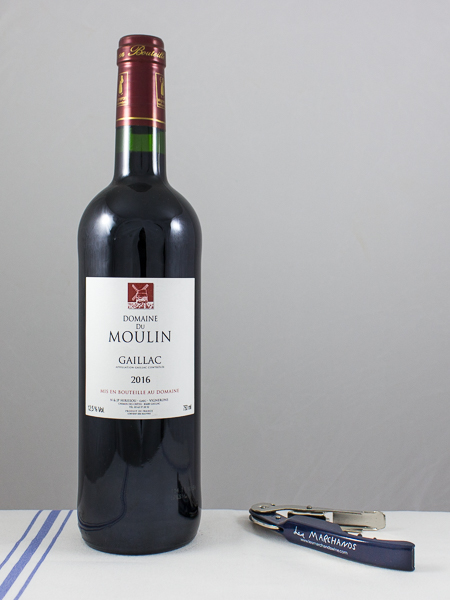 Domaine du Moulin Gaillac Rouge 2016  - Les Marchands Restaurant & Wine Merchant