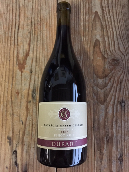 Patricia Green Pinot Noir Durant Vineyard Bishop Block 2013  - Les Marchands Wine Bar & Merchant
