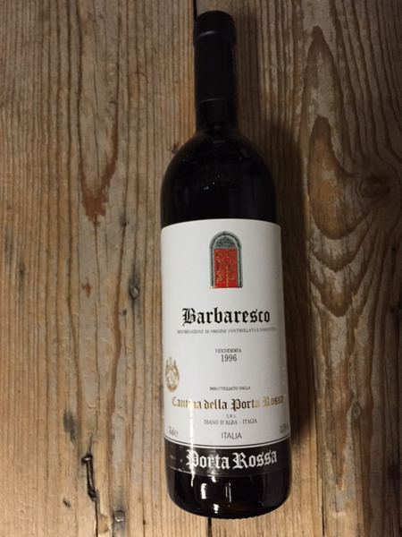 Cantina della Porta Rossa Barbaresco 1996  - Les Marchands Wine Bar & Merchant